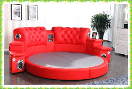cheap round beds. Plain Round Cheap Round Sofa Beds Red Bed Genuine Cow Leather Wedd Hot In  From For Cheap Round Beds T