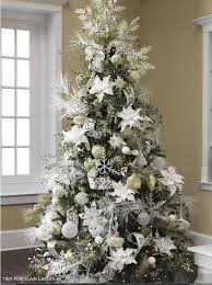 Explore White Christmas Trees, Xmas Trees and more! Green tree with white  decs