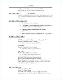 Examples For Objective On Resume Hr Resume Objective Resume Profile