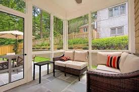 Small Sunroom With Wicker Furniture Great Windows For Your Sunroom