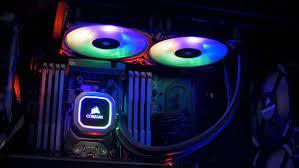 h100i rgb platinum 240mm liquid cpu cooler
