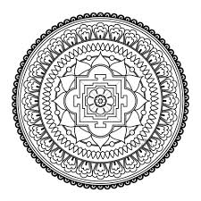 Small Picture Coloring Pages Square Mandala Coloring Pages Bing Images