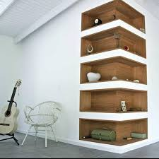 Brilliant Ideas Corner Shelf For Living Room Bold Idea 23 Corner Wall Shelf  Designs