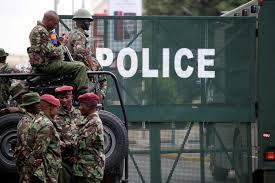 Image result for kenya police man image