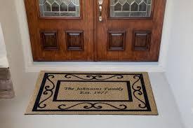 large front door matsPretentious Front Door Mats Displaying Stone Also Good Looking