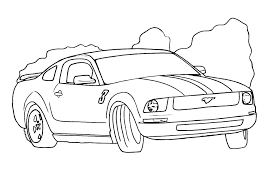 Free Car Coloring Pages C Is For Car Coloring Page Free Race Car