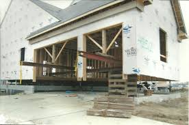 House Lifting For New Garage Macomb MI Ultimate Contracting - House with basement garage
