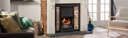 gas electric fireplace options