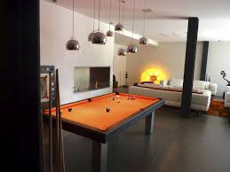 image of modern pool table light fixtures