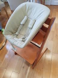 stokke tripp trapp and newborn chair