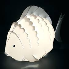 Fish Table Lamp Family Tank Small