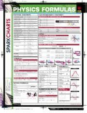 Physics Formulas Sparkchart Spark Charts Physics