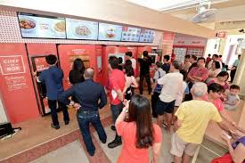 Jr Food Vending Machine Fascinating Hourlong Queues At Sengkang's Foodvending Machines Food News