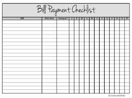 Bill Tracker Printable Inspirational Bill Payment Tracker Log Full