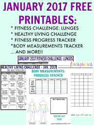 Group Fitness Challenge Tracker Fitness Level Printable Track Your Progress Its A Fabulous Life