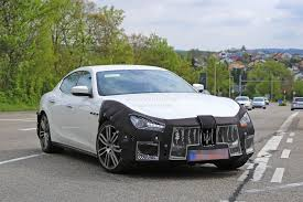 2018 maserati 4 door. exellent 2018 2018 maserati ghibli facelift spied up close is this the new 450 with  4 in maserati door