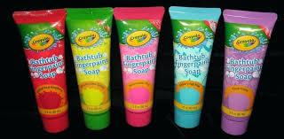 bathtub fingerpaint soap new crayola bathtub soap lot of 5 s vibrant colors crayola bathtub fingerpaint