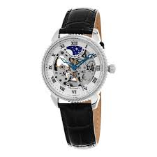 stuhrling 835 01 835 01 speical reserve automatic skeleton leather stuhrling 835 01 835 01 speical reserve automatic skeleton leather mens watch