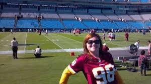 Bank Of America Stadium Section 113 Row 1a Home Of