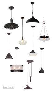 Edison Hanging Lights | Farmhouse Pendant Lights | Chrome Pendant Light