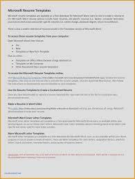 Letter Of Interest Template Microsoft Word Amplifiermountain Resume