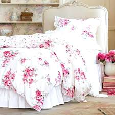 ruffle bedding shabby chic comforter sets queen good looking beach blue home interior duvet cover quilt