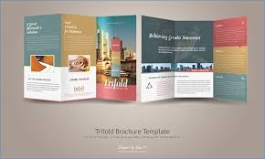 make tri fold brochure how to make a trifold brochure on powerpoint sardolog org