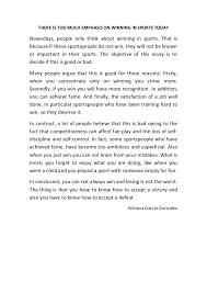 sports and sportsmanship short essay essay help online essay  essay contest winners new york sports connection