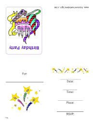 Example Of Invitation Card Baby Birthday Invitation Card Invitation