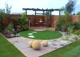 Small Picture Small garden deck with water feature