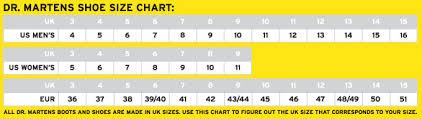 Dr Martens Size Chart In Inches Acquisti Online 2 Sconti Su Qualsiasi Caso Dr Martens Boots