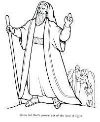 Moses Coloring Pages A Coloring Pages Or Coloring Page Of Free