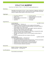 Elevator Mechanic Sample Resume Resume Examples Mechanic Examples Of Resumes 6