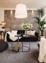 Indoor Plants Living Room Living Room With Casual Style Interior With Indoor Plants And