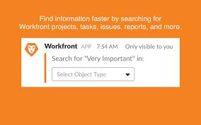 Workfront Slack App Directory