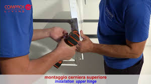 Montaggio sistema Compack Living <b>180</b>° 90° / Installation folding ...