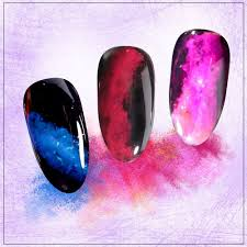 Nehtový Pyl Smoke Nails Smoke Efekt 11 Neon Purple