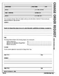 Change Order Form - Icmfortaleza.tk
