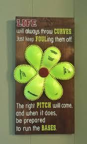 Softball Bedroom Softball Quotes Etsy