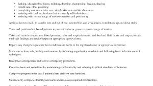 Cna Job Duties Resume Resume Dental Assistant 57
