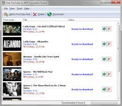 free youtube to mp3 converter studio 9 0  Free YouTube MP3 Converter 1527680 #11