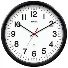 quick view timex 14 5 set forget wall clock 46007t