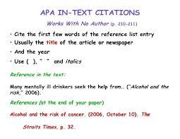 news article format apa citation format article citation format article apa style ideas
