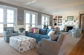 Decorations:Stylish Small Home With Beach House Decorating Also White  Loveseat And Timber Walls Nice