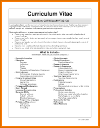 2 3 Cv Example Science Titleletter