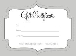 Luxury Printable Gift Certificates Downloadtarget