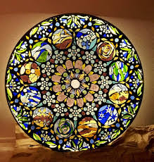 stained glass mosaic light apieceofrainbow 22