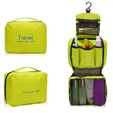 las mens wash zipper bag travel bag toiletries makeup organizer bag hang