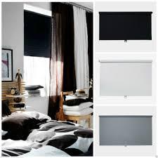 Details About IKEA  TUPPLUR BLACKOUT BLIND  BLACK WHITE OR - Blackout bedroom blinds