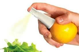 citrus juice sprayer